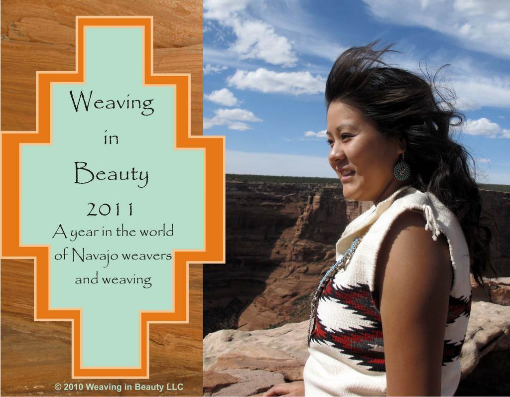 Weaving in Beauty 2011 Calendar Cover